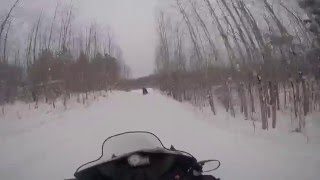 Northern Wisconsin Snowmobiling High Quality