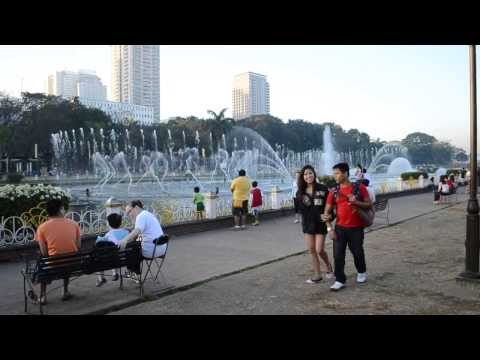 [HD] Luneta/Rizal Park Dancing Fountain Jan. 2014