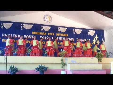 2012 Borongan City Division Jazz Chant Champions - Esnchs video