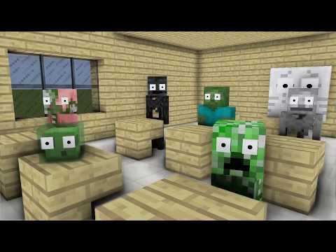 Monster School : BALDI, SADAKO, SLENDRINA, FNAF & GRANNY (Part 8) - Minecraft Animation
