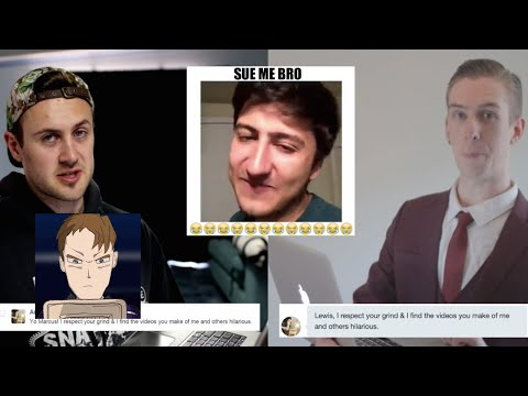 SoFloAntonio Threatening To Sue Me (LAWSUIT GONE SEXUAL) -- LewReview Feat. Marcus Dibble