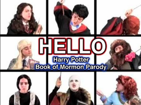 HELLO- Harry Potter Book of Mormon Parody | Geek With Me