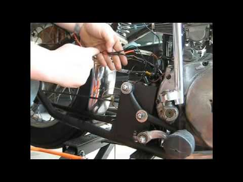 xs650 charging system how to wire it up continued youtube Harley-Davidson Wiring Harness Diagram