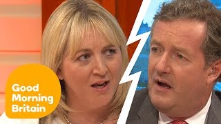 Piers Morgan Says There's No Excuse For Leaving Children Home Alone    Good Morning Britain