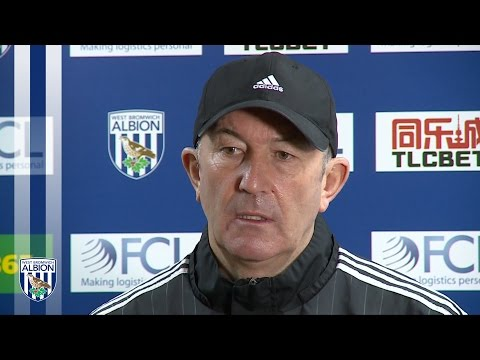 PRESS CONFERENCE: Tony Pulis previews tomorrow's Premier League fixture against Crystal Palace