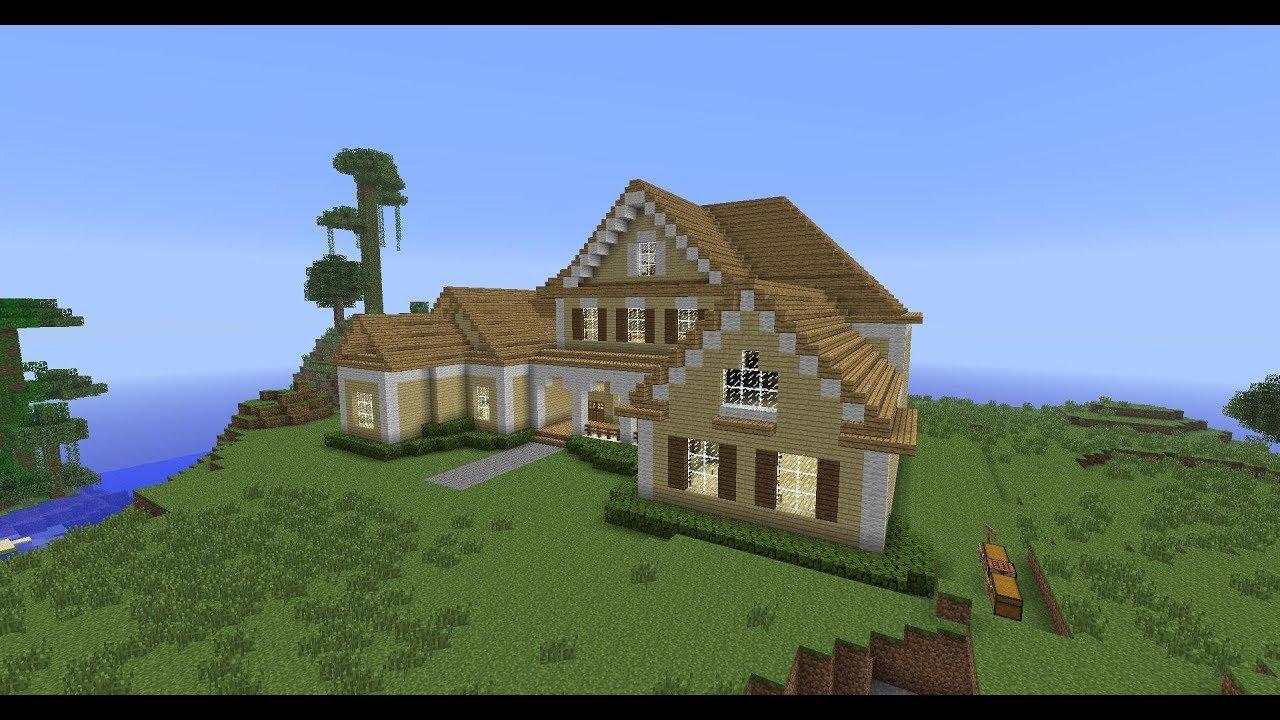 Схемы красивых домов в minecraft пошагово