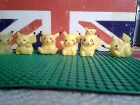 pokemon bandai hollow figures picachu special
