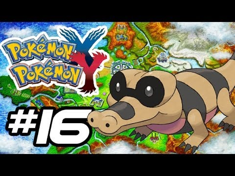 Pokemon X and Y Gameplay Walkthrough - Part 16 - ROCK CLIMBERS!! (Pokemon Gameplay 3DS HD)