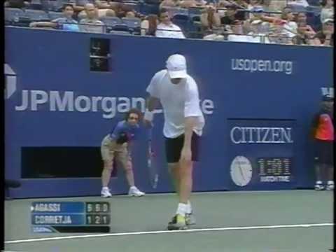 Corretja vs Agassi US Open 2003