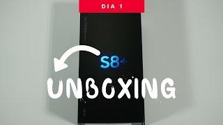 Samsung Galaxy S8+ / Unboxing Super Rápido - Día 1