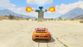 ROBOT IN GTA 5! (GTA 5 Funny Moments)