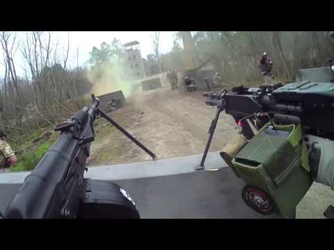 DesertFox Airsoft: Tim vs Bob 4.5 Game Play