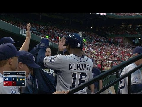 SD@STL: Gyorko singles home Padres' first run in 3rd