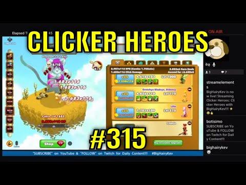 Clicker Heroes #315 - LiveStream