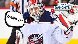 NHL Worst Plays of The Year - Day 10: Columbus Blue Jackets Edition | Steve's Dang Its