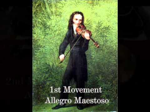Паганини Никколо - Violin Concerto No 1.