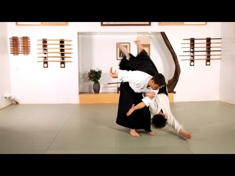 Aikido Techniques: Koshi Nage   | How to Do Aikido Image 1