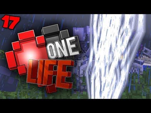 I got struck by LIGHTNING!! - Minecraft One Life SMP EP17