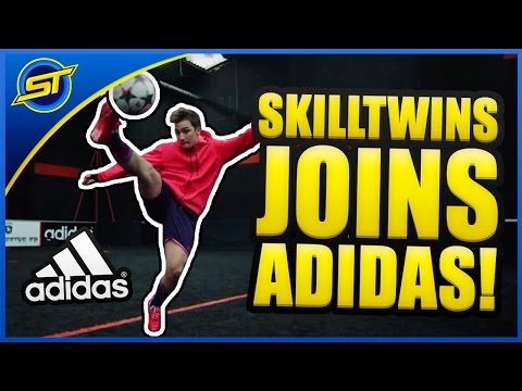 SkillTwins Joins adidas Football & Gamedayplus! ★