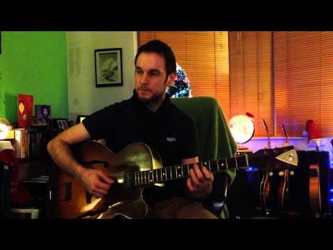 As Long as I Live - Charlie Christians Guitar Solo (Note for...