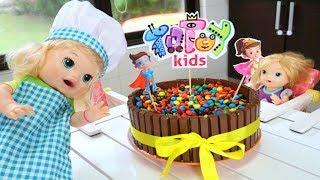 Totoykids faz Bolo para comemorar 15 Milhões de Inscritos!!! Amamos vocês!!!