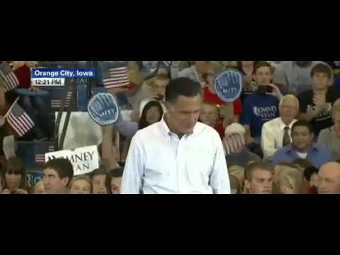 Mitt Romney Post DNC Campaign Stop Speech in Orange City Iowa 9/7/2012