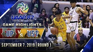 UP vs. UST - September 7, 2019  | Game Highlights | UAAP 82 MB