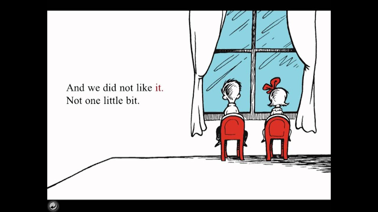 The Cat In The Hat Summary Of The Book