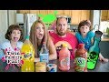 DISGUSTING   Or Delicious??   Drink Challenge!!! Gross, Nasty And Weird Flavors | Twin Family Fun
