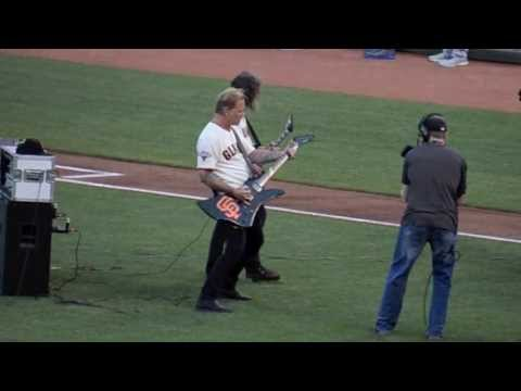 SF Giants Metallica Night