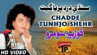 Download Sindhi Dard Bharya Geet - Chadde Tunhjo Shehr - Fozia soomro - Sindhi Full HD Song 3Gp Mp4