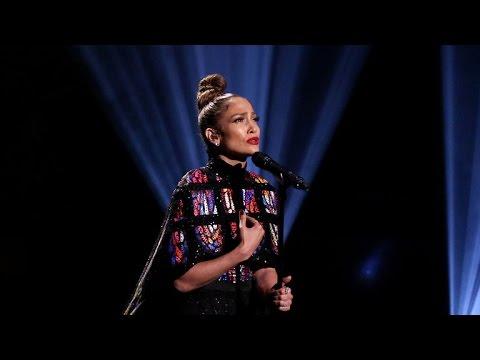 Jennifer Lopez and Lin Manuel Miranda Perform Emotional Tribute to the Pulse Nightclub Victims