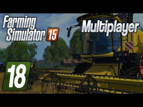 Zagrajmy w Farming Simulator 2015 na multiplayer #18 Kombinatorzy :D
