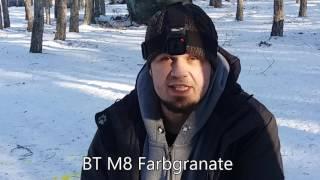 Paintballgranatenvergleich - different paintball granades - BT WASP and more