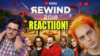 Youtube Rewind 2018 - Lasercorn and Jovenshire React