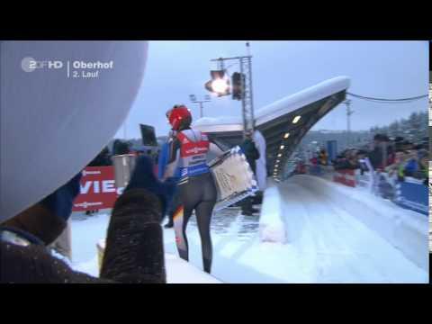 Natalie Geisenberger - Rodel-Weltcup in Oberhof 16012016