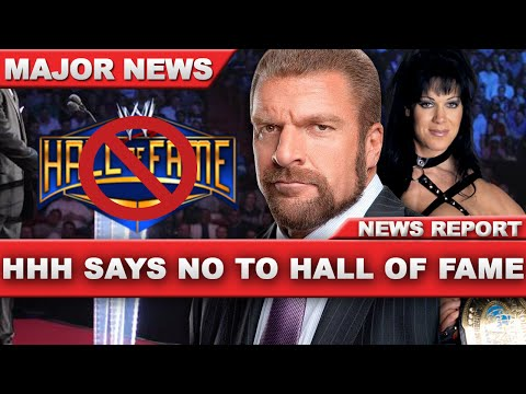 WWE - HHH Says No To CHYNA In WWE Hall of Fame