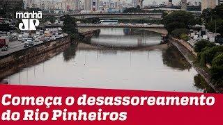 Rio Pinheiros entra nesta terça em nova etapa de limpeza; Governo projeta vida aquática para 2022