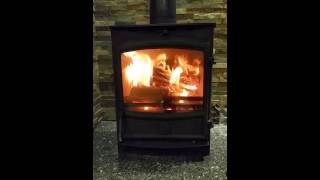 The Sunvision 5 multi fuel DEFRA stove exclusive to The Fireplace Warehouse