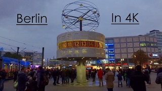 Berlin In 4K - Germany - Ultra HD (DJI Osmo) - October 2016