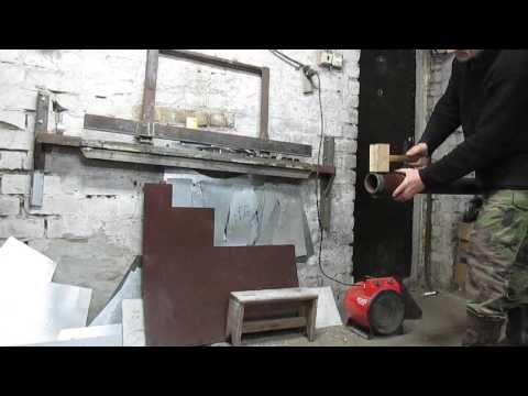 Дом в глуши Ручной станок для изготовления труб .