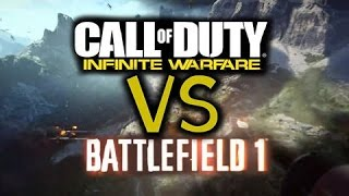 Battlefield 1 vs Call of Duty Infinite Warfare - İnceleme #RipCoD
