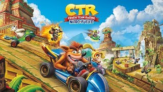 Crash Team Racing Nitro-Fueled - Demo Tracks (Gameplay)