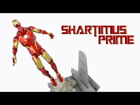 Marvel Select Iron Man Bleeding Edge Armor Model 38 Action Figure Review