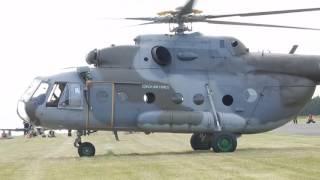 Vrtulník AČR Mi-17 Letecký den Rakovník