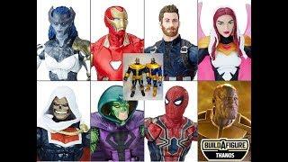 Hasbro Marvel Legends- INFINITY WAR - THANOS Build a figure!! Comparison of Walmart Exclusive.