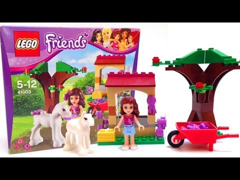 Lego Friends Olivia Toy Unboxing DIY