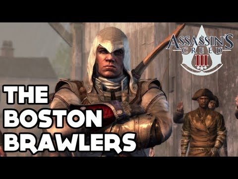 Assassin's Creed III - 'The Boston Brawlers' Walkthrough - All Missions / Challenges