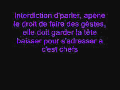 la marchande de porte clef paroles orelsan