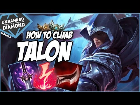 HOW TO CLIMB LOW RATING ON TALON - Unranked to Diamond - Ep. 5 | League of Legends